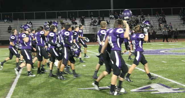 Carlsbad football dismantles RBV on senior night