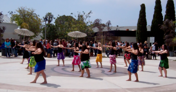Polynesian dance performance expresses another culture