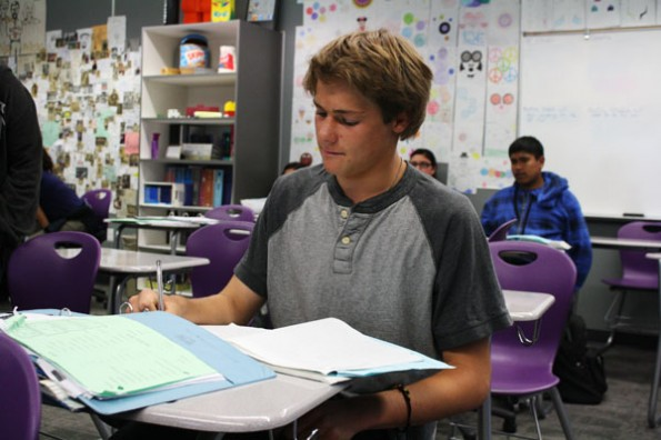 Four lives, one desk: students share more than just a seat