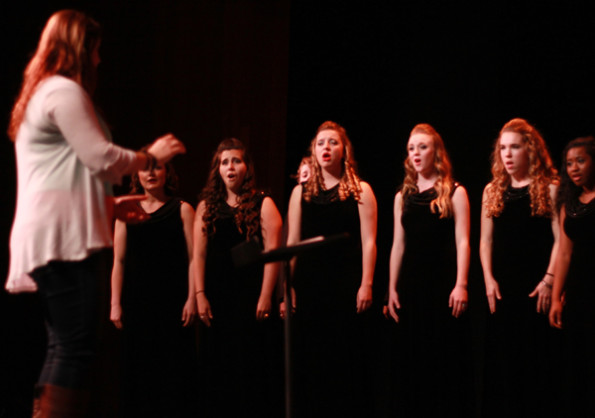 Choir department shines in 'Night with the Stars'