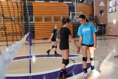 Freshmen make waves on the sport court