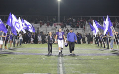 Final league football game recognizes seniors