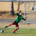 Senior Matt Deemer makes a save while trying out for his last season on Mens Varsity soccer. Tryouts have lasted all week, and results were posted Friday morning, congratulations to all team members!