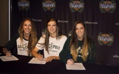 Athletes sign letters of intent at the Hall of Champions