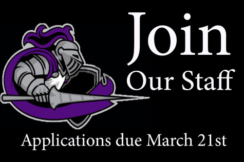 Join the 2014-2015 Lancer Link, Lancer Express or Purple Shield staff