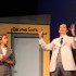 "Juniors Karinya Ghiara and Max DeLoach perform during the spring musical ""How to Succeed in Business Without Really Trying"".  The show was filled with great  musical numbers and 60s inspired costumes and characters."