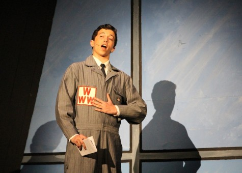 Max DeLoach competes at the Ben Vereen Awards